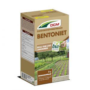 Gazonaanleg zandgrond verbeteren - DCM Bentoniet 2 kg