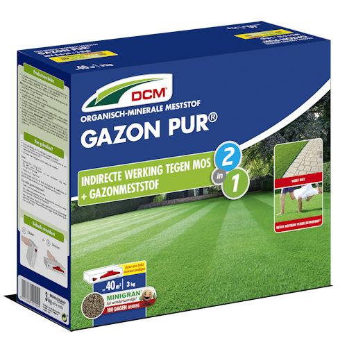 Gazonmeststof anti-mos - DCM Gazon Pur 3 kg