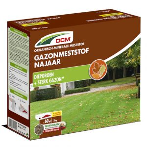 Gazonmeststof najaar - DCM Gazonmeststof najaar 3 kg