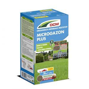 Gazonmeststof kalk anti-mos - DCM Microgazon Plus 1,5 kg